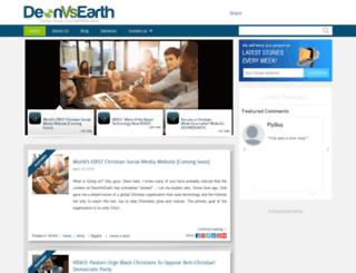 deonvsearth.com screenshot