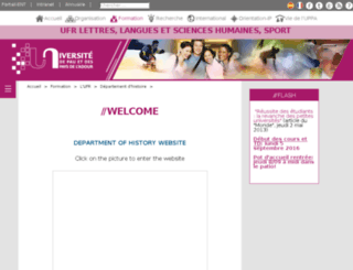 dep-histoire-art.univ-pau.fr screenshot