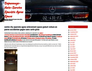 depannage-auto-service.com screenshot