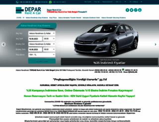 deparrentacar.com screenshot