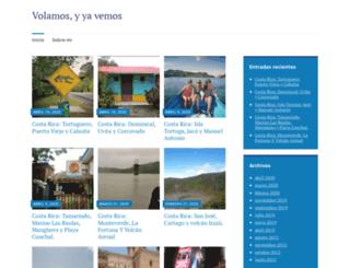 depaseoentremaletas.wordpress.com screenshot