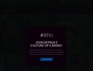 depaul.org screenshot