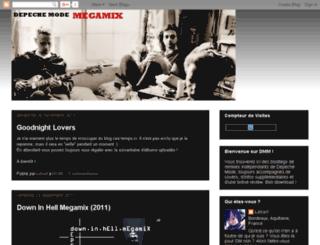 depeche-mode-megamix.blogspot.com screenshot