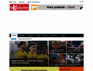 depechedekabylie.com screenshot