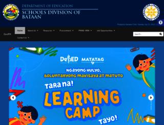 depedbataan.com screenshot
