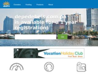 depedebeis.com.ph screenshot