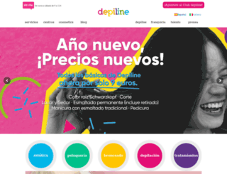 depiline.com screenshot