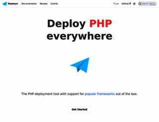 deployer.org screenshot