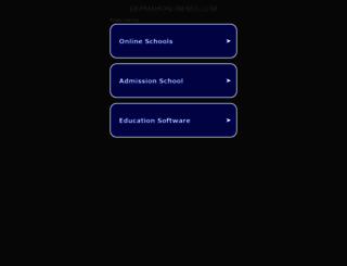 depmahonlinemis.com screenshot