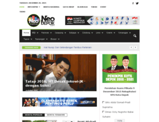 depokurbancity.com screenshot