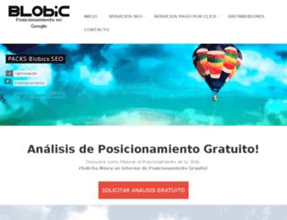 deporte.blobic.com screenshot