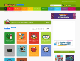 deportes.dibujos.net screenshot