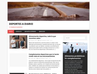 deportesadiario.net screenshot