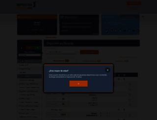 deportesonline.com screenshot