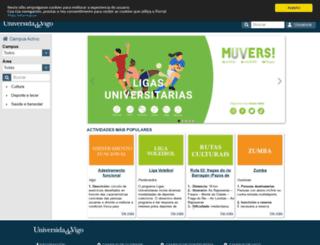 deporxest.uvigo.es screenshot