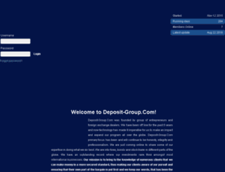 deposit-group.com screenshot