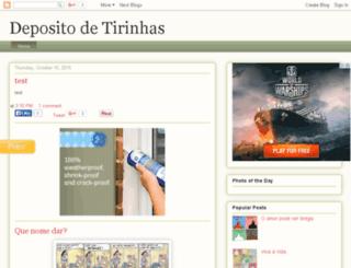 depositodetirinhas.net screenshot