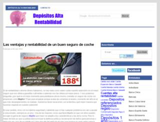 depositosaltarentabilidad.es screenshot