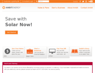 depot.ambitenergy.com screenshot