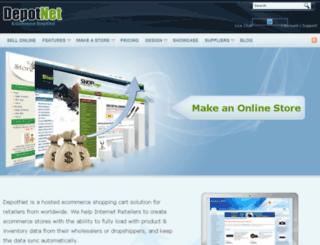 depotnet.com screenshot