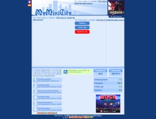 deppenweiler.myminicity.com screenshot