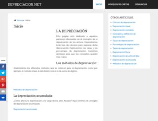 depreciacion.net screenshot