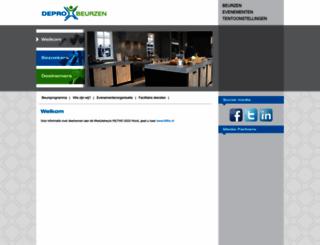 deprobeurzen.nl screenshot