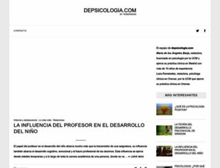 depsicologia.com screenshot