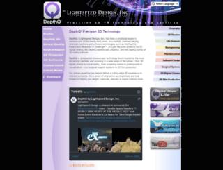 depthq.com screenshot