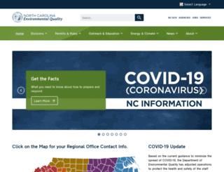 deq.nc.gov screenshot
