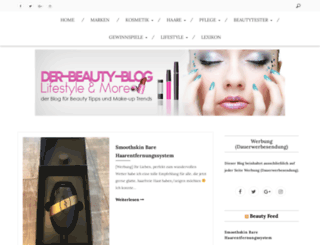 der-beauty-blog.de screenshot