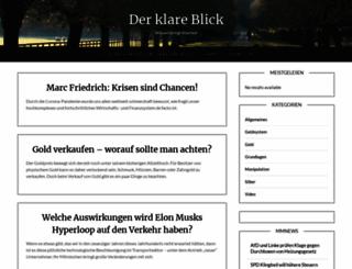 der-klare-blick.com screenshot