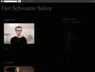 der-schwarze-salon.blogspot.com screenshot