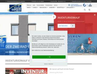 der-zweirad-experte.de screenshot