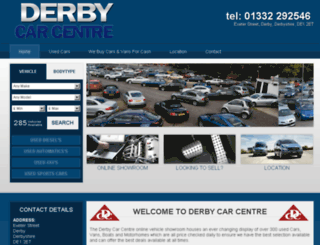 derbycarcentre.co.uk screenshot