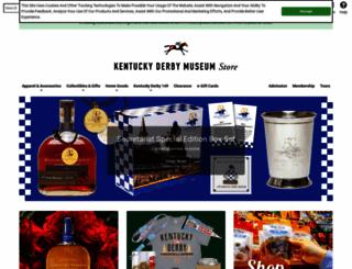 derbymuseumstore.com screenshot