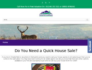 derbyshire-house-buyers.co.uk screenshot