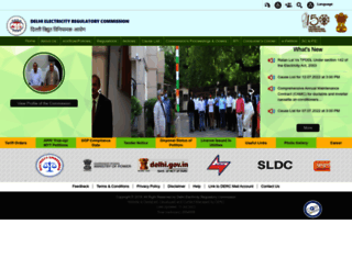 derc.gov.in screenshot