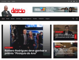 dercio.com.br screenshot