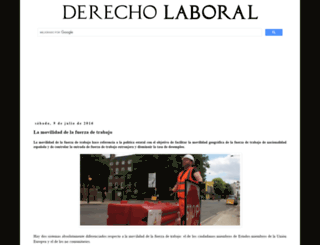 derecholaboral.info screenshot