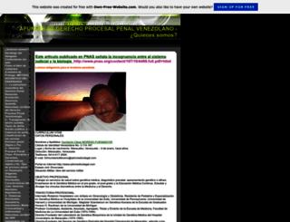 derechoprocesalpenal.page.tl screenshot