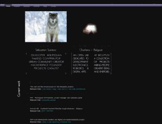 dereckson.be screenshot