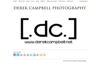 derekcampbell.net screenshot
