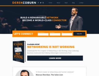 derekcoburn.com screenshot
