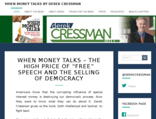 derekcressman.nationbuilder.com screenshot
