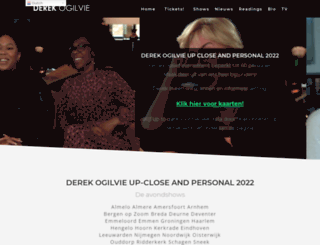 derekogilvie.com screenshot