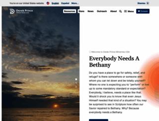 derekprince.org screenshot
