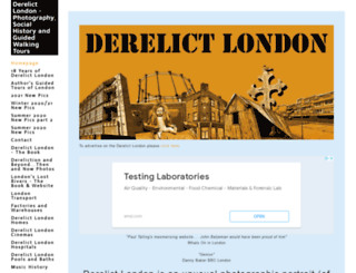 derelictlondon.com screenshot