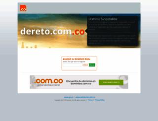dereto.com.co screenshot