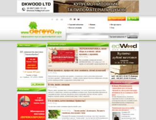 derevo.info screenshot